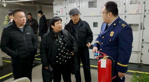 济南市妇幼保健院邀请市中区消防大队专家来院指导消防安全工作