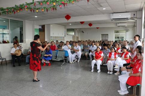 胶州市心理康复医院托养中心举行中秋节文艺汇