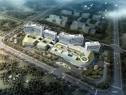 济宁市立医院顺利完成主体结构封顶并举行封顶