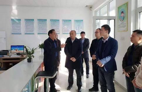 重慶市黔江區衛生健康委到東港區