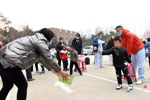 济宁市任城区妇幼保健院儿童康复科举办冬季亲子趣味运动会